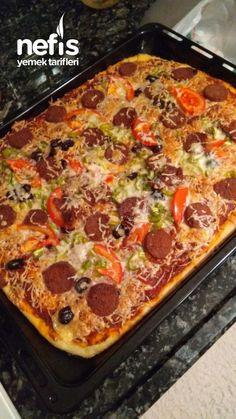 Pizza, Pepperoni, Lasagna, Hamburger, Food And Drink, Ethnic Recipes, Yogurt, Hardanger, Turkish Cuisine