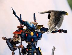 Warhammer 40k Eldar, very cool heavily modded Wraithknight