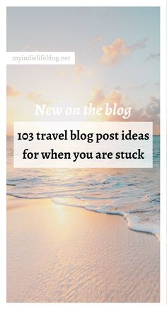Today on the blog I want to help by giving you 103 travel blog post ideas for those moments when you feel stuck and need some inspiration. Make sure you scroll to the end, because I have some tips on how to generate more ideas for your travel blog, quickly and easily so that you never feel truly stumped again!    CLICK THROUGH TO READ    #blogger #blogseo #blogtip #blogpostideas #digitalmarketing  #contentmarketing Twitter For Business, Small Business Marketing, Business Tips, Online Business, Airbnb Reviews, Best Airlines, Best Travel Quotes, Beaches In The World, Successful Women