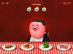 The Iron Tummy iPad Game (Free Download) by Mauro Gatti, via Behance