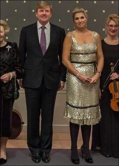 Koningin Máxima bij concert Raad van State. 2013