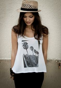 BCN Graffiti Classic Vest from The Lost Travel TShirt Company