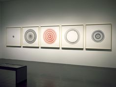 Jill Baroff: Hamburg Tide Circles, 2013-2014, installed at the Hamburger Kunsthalle for the exhibition, Lichtwark Revisited.
