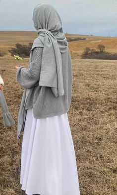 Modest Fashion Hijab, Modern Hijab Fashion, Muslim Fashion, Mode Outfits, Fashion Outfits, Moslem, Mode Turban, Hijab Fashionista, Islamic Clothing