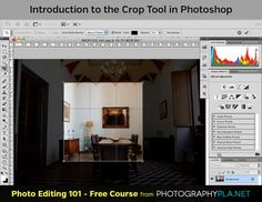 Introduction to the Crop Tool in PS It's very easy to think that the Crop Tool in Photoshop is a very simple tool and while the job it does is quite straight forward, there's more to it than you may realize if you don't pay attention to the tool options bar. Interestingly, it's a little unusual in-so-far as the tool options change between activating the Crop Tool and using it.
