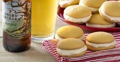 Mini Cider Whoopie Pies with Angry Orchard Crisp Apple #Recipe