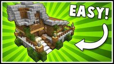 SIMPLE & STYLISH SURVIVAL HOUSE! - Minecraft Tutorial - YouTube