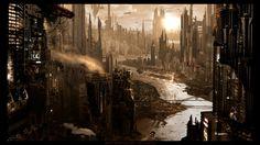 fantasy world abandoned city 1600x900 wallpaper