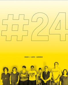 #24MAG, Issue 4: Audience, Publisher: #24MAG
