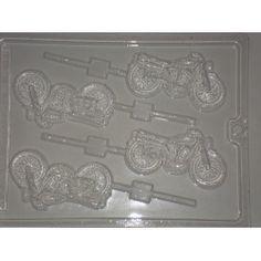 Motorcycle Lollipop mold....order online at www.thechocolatebelles.com