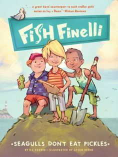 """All aboard for a nautical journey """"packed with humor and action"""" (Booklist)! Fourth grader Fish Finelli bets the town bully his whole summer savings that he can find Captain Kidd's legendary lost treasure — leading him and his friends through a world of science and mystery ($0.99)"""