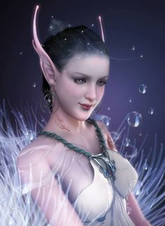Never saw an Elf with double ear tips; musf be an Ellff