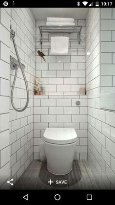 Small Wet Room Bathroom Design 7 Tiny Bathrooms Brimming with Functional and Beautiful Wet Room Bathroom, Small Shower Room, Toilet Room, Small Showers, Tiny Bathrooms, Tiny House Bathroom, Bathroom Toilets, Wood Bathroom, Bathroom Ideas