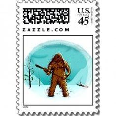 Its a bigfoot stamp I love it