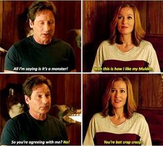 Mulder and Scully. Stahp playing with my emotions