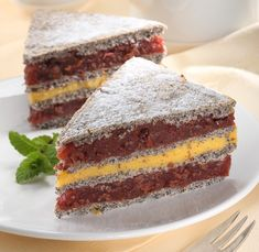 Poppy Cake, Hungarian Recipes, Sweet Tarts, Tiramisu, Cheesecake, Food And Drink, Sweets, Baking, Eat