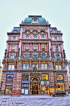 Vienna - I want to see this building! It's gorgeous.