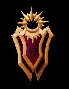 League of Legends Leona Shield Leona League Of Legends, League Of Legends Characters, Fictional Characters, Shield Tattoo, Harry Potter, Lost City, Cosplay Costumes, Concept Art, Batman