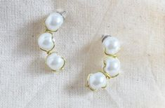 Perfect Pearl Drops Looking for an updated way to wear pearls? These Perfect Pearl Drops are classy… read more