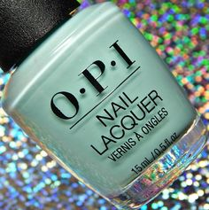 OPI Summer 2018 Grease Collection Swatches and Review Opi Nail Polish Colors, Opi Nails, Grease Is The Word, Opi Pink, Gel Color, Colour, Color Feel, Light Turquoise, Cool Tones