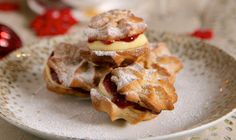 Spiced Christmas Viennese whirls