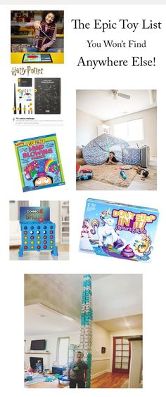 The 27 Toys Everyone Will Want This Year! These are the toys your kids will play with for hours on end and are actually worth your hard-earned money. Christmas Gift Guide, Christmas Toys, Unique Home Decor, Cheap Home Decor, Quiet Time Activities, Indoor Activities, Family Activities, Creative Activities, Cool Toys For Girls
