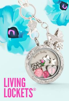 Large Silver Floral Face ~ Baby Buggy Dangle ~ Origami Owl Custom Living Lockets   See all the Collections @ www.BeHOOTifulLocketts.OrigamiOwl.com   Follow me @ facebook.com/KarenBrownSchoenfeldt