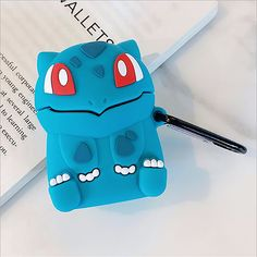 Bulbasaur Pocket Monsters Cartoon cute soft silicone case Airpods Case Earphones Headphone Stand Phone Cases Cover Clear Apple Airpod Pro Airpod Pro, Bulbasaur, Marketing And Advertising, Monsters, Phone Cases, Apple, Cartoon, Pocket, Cover