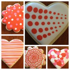 Valentines Day Cookies - Hearts - Cooking Decorating