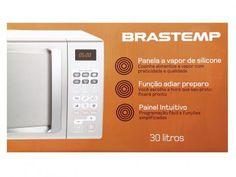 Micro-ondas Brastemp BMA30AFANA 30L - com Painel Digital com as melhores condições você encontra no Magazine Linhatotal. Confira!