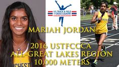Manchester University junior women's track and field standout Mariah Jordan added another honor to her star-studded 2016 season.