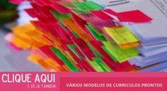 varios modelos de curriculum prontos para preencher