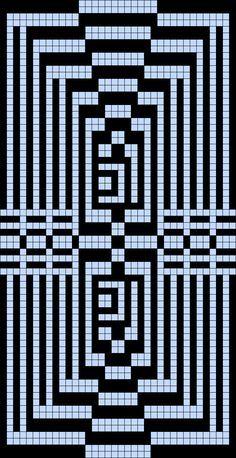 "Photo from album ""Филейные схемы"" on Yandex. Bead Loom Patterns, Mosaic Patterns, Beading Patterns, Cross Stitch Patterns, Knitting Charts, Knitting Patterns, Optical Illusion Quilts, Peler Beads, Crochet For Beginners Blanket"