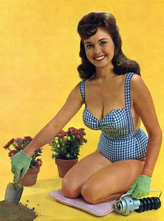 www.girlswithtools | Bright Smile: Ridgid Tool Company Pinup Calendar 1963-64