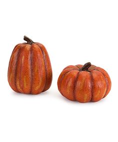 Take a look at this Small Pumpkin Set by Melrose on #zulily today!