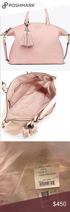05ecc961c6cbf4 Tory Burch Thea medium leather satchel NWT