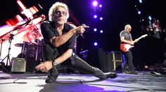 """Any time I get stressed now, I just think of that feeling and the worries go away,"" the Who singer says"