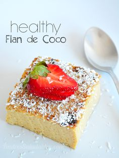 Healthy Baking, Healthy Desserts, Delicious Desserts, Yummy Food, Healthy Food, Healthy Recipes, Sweet Recipes, Cake Recipes, My Colombian Recipes