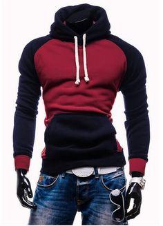 2018 New brand Men Hoody Sweatshirts Hip Hop Fashion Slim Hoodies Menmodkily 0e7772f6e6c
