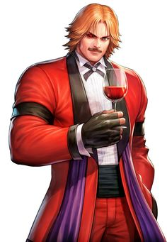 All Star, Snk King Of Fighters, Fighting Games, Character Description, Archetypes, Manga, Game Character, His Eyes, Game Art