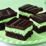 Mint Chocolate Brownies - PinCookie.com