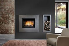 Chazelles Fireplace is one stop luxury Fireplace showroom Sydney for a variety of modern fireplace designs ranges from outdoor wood fireplace to modern gas fireplace with built in fireplace functionality. Visit our Sydney fireplace showroom or call now. Outdoor Wood Fireplace, Indoor Outdoor Fireplaces, Tv Above Fireplace, Fireplace Built Ins, Modern Fireplace, Fireplace Design, Fireplace Showroom, Wood Burning Heaters, Room Set