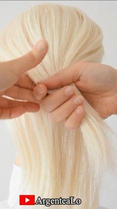 Hairdo For Long Hair, Long To Short Hair, Hair Dos, Easy Hairstyles, Modern Hairstyles, Bride Hairstyles, Short Hair Styles Easy, Natural Hair Styles, Medium Thin Hair
