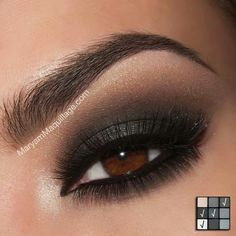 Smokey Eye for Brown Eyes♡