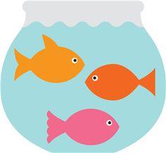 View Design: 3 goldfish & fish bowl