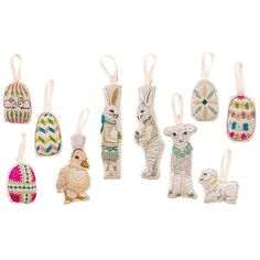 Easter eggs! Rabbits! Lamb! Sheep! And last but not least duckbunny!! We've never had an Easter tree before, but we sure will this year! #easter #decorate #easterbunny #easteregg #basket #rabbit #lamb #sheep