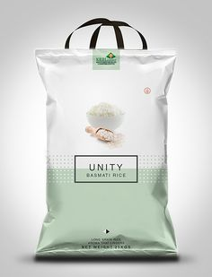 Unity Basmati Rice Packaging Design on Behance