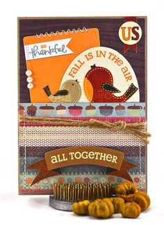 Fall Cards - Thanksgiving Cards - Give Thanks - Be Thankful Card - Gratitude Card - Be Grateful - Thanks Giving - For the Holidays - pinned by pin4etsy.com