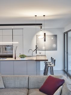 Nizza Paradise offers modern design apartments, with a wonderful view on the Lake Lugano (Ticino, Switzerland) and on the Guidino Park. Lugano, Apartment Design, Luxury Real Estate, Innovation Design, Modern Design, Paradise, Table, Furniture, Home Decor