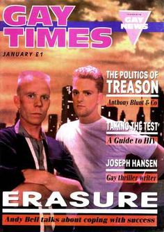 Gay Times 100 - Erasure